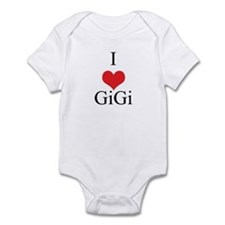 I Love (Heart) GiGi Infant Bodysuit