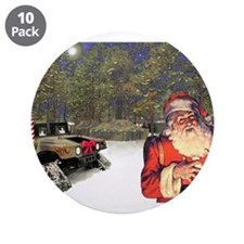 """Military Silent Night 3.5"""" Button (10 pack)"""