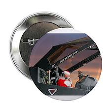 "Stealth Pilot Santa 2.25"" Button (100 pack)"