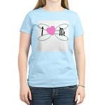 I Love me Women's Pink T-Shirt