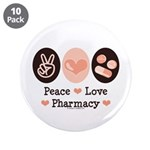 Peace Love Pharmacy Pharmacist 3.5