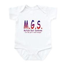 Multiple Goat Syndrome Infant Bodysuit