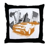 """Elise Rollin'"" Throw Pillow"
