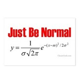 Be Normal Postcards (Package of 8)