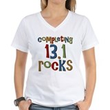 Completing 13.1 Rocks Marathon Shirt