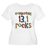 Completing 13.1 Rocks Marathon Women's Plus Size S
