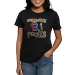 Completing 13.1 Rocks Marathon Women's Dark T-Shir