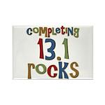 Completing 13.1 Rocks Marathon Rectangle Magnet (1