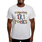 Completing 13.1 Rocks Marathon Light T-Shirt