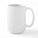 Completing 13.1 Rocks Marathon Large Mug