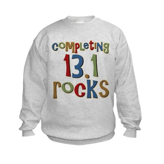 Completing 13.1 Rocks Marathon Kids Sweatshirt