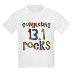 Completing 13.1 Rocks Marathon Kids Light T-Shirt