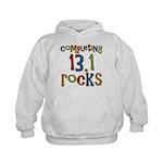 Completing 13.1 Rocks Marathon Kids Hoodie