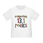 Completing 13.1 Rocks Marathon Toddler T-Sh