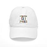 Completing 13.1 Rocks Marathon Cap