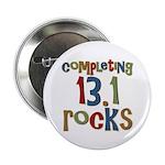 """Completing 13.1 Rocks Marathon 2.25"""" Button"""