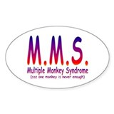 Multiple Monkey Syndrome Decal