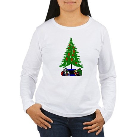 Christmas Tree Women's Long Sleeve T-Shirt