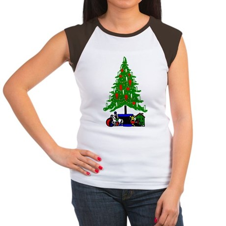 Christmas Tree Women's Cap Sleeve T-Shirt