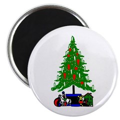 Christmas Tree 2.25&quot; Magnet (100 pack)