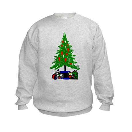 Christmas Tree Kids Sweatshirt