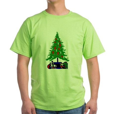 Christmas Tree Green T-Shirt