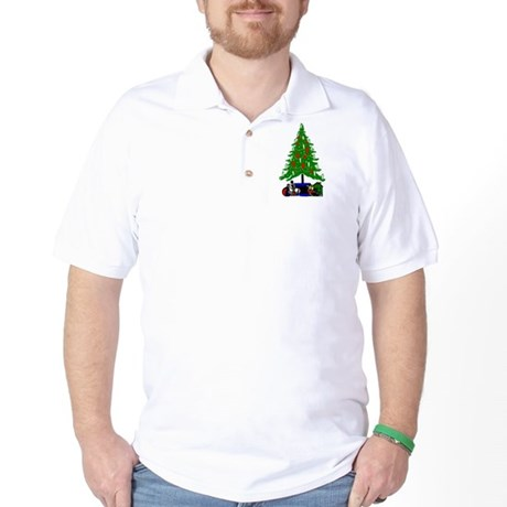 Christmas Tree Golf Shirt