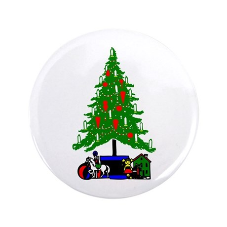 Christmas Tree 3.5&quot; Button