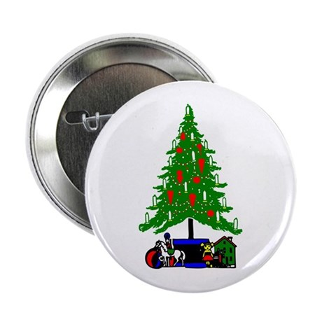 Christmas Tree 2.25&quot; Button
