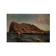 Rock of Gibraltar Rectangle Magnet