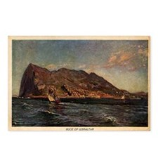 Rock of Gibraltar Postcards (Package of 8)