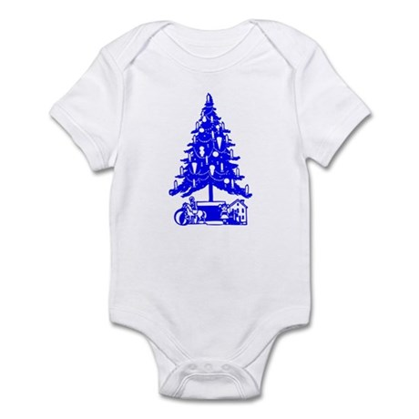 Christmas Tree Infant Bodysuit
