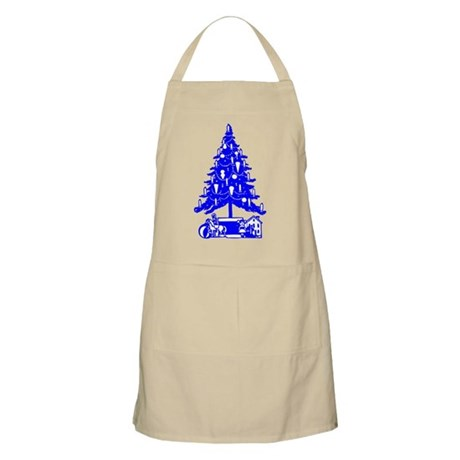 Christmas Tree BBQ Apron