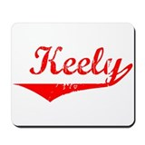 Keely Vintage (Red) Mousepad