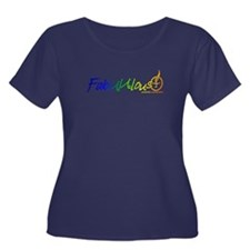 """FabUUlous"" Women's Scoop Neck T-Shirt (Plus)"