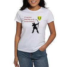 Not Just Archery Women's T-Shirt