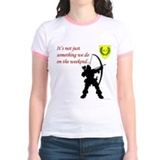 Not Just Archery Jr. Ringer T-Shirt