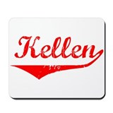Kellen Vintage (Red) Mousepad