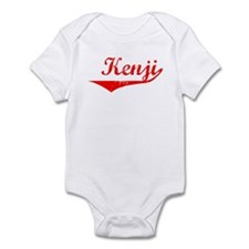 Kenji Vintage (Red) Infant Bodysuit