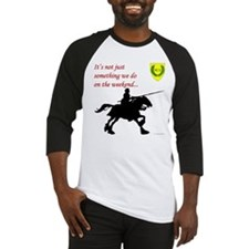 Not Just Equestrian Arts Baseball Jersey