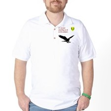 Not Just Falconry Golf Shirt