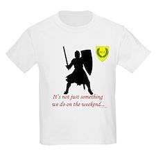 Not Just Heavy Fighting Kids Light T-Shirt