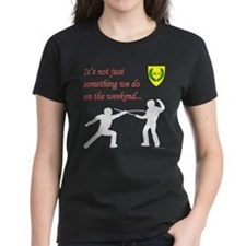 Not Just Rapier Fighting Tee