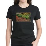 Garden is a work of heart Women's Dark T-Shirt