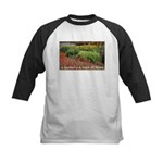 Garden is a work of heart Kids Baseball Jersey