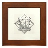 The Berkshires Framed Tile