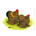 GL Cochin Bantams Postcards (Package of 8)
