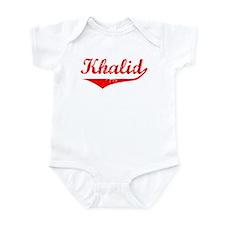 Khalid Vintage (Red) Infant Bodysuit