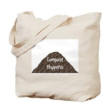Compost Happens Tote Bag