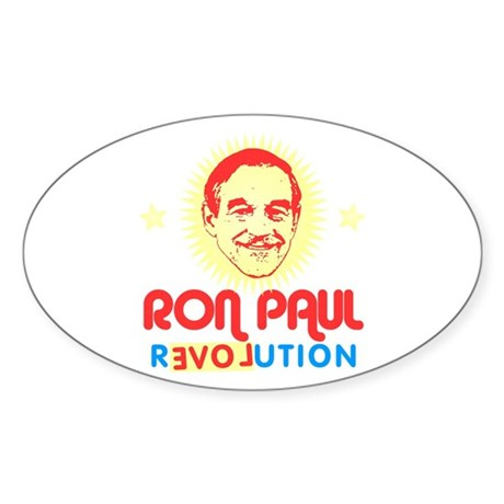 Ron Paul 2012 Oval Sticker
